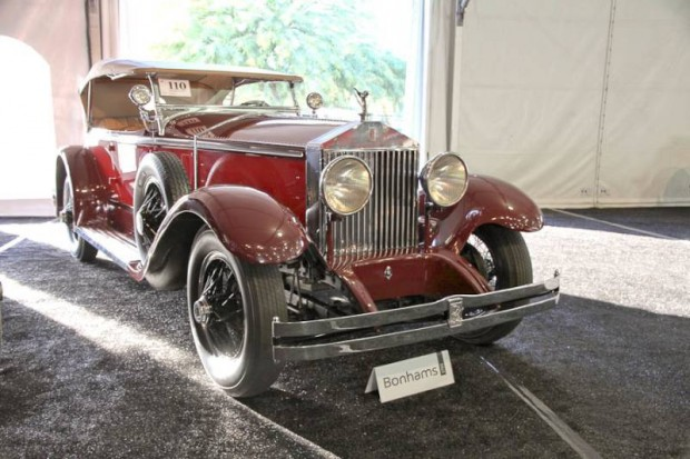 1929 Rolls-Royce Phantom I Ascot Tourer, Body by Brewster