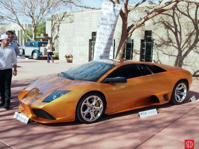 2007 Lamborghini Murcielago LP640-4 Coupe