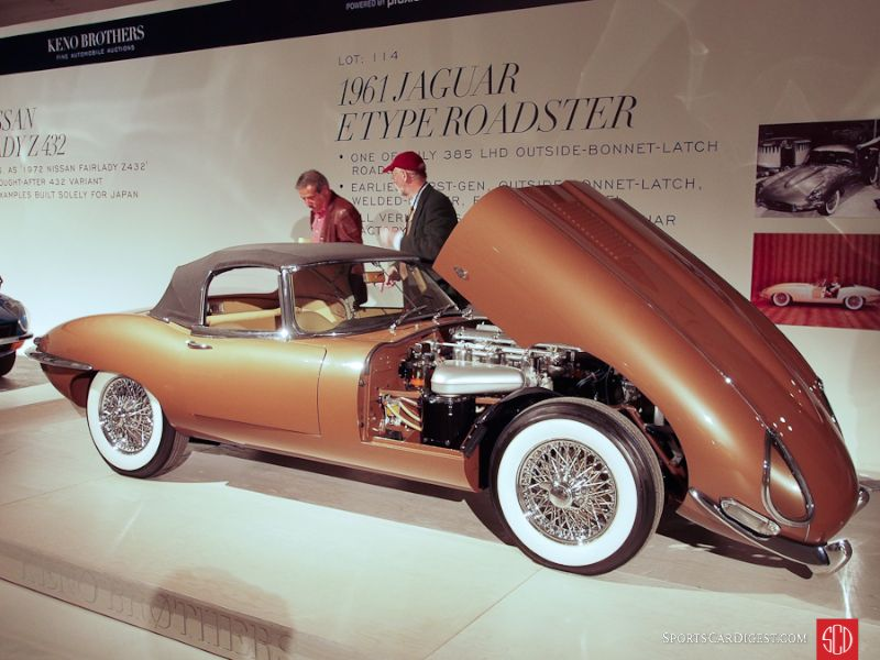 1961 Jaguar XKE SI flat floor EBL Roadster