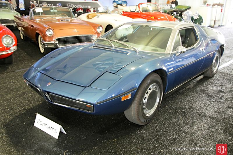 1973 Maserati Bora 4.9 Coupe, Body by Giugiaro