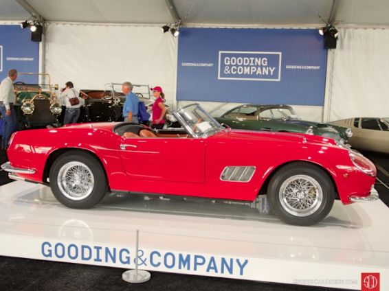 1961 Ferrari 250 GT SWB California Spider (closed headlight), Body by Scaglietti