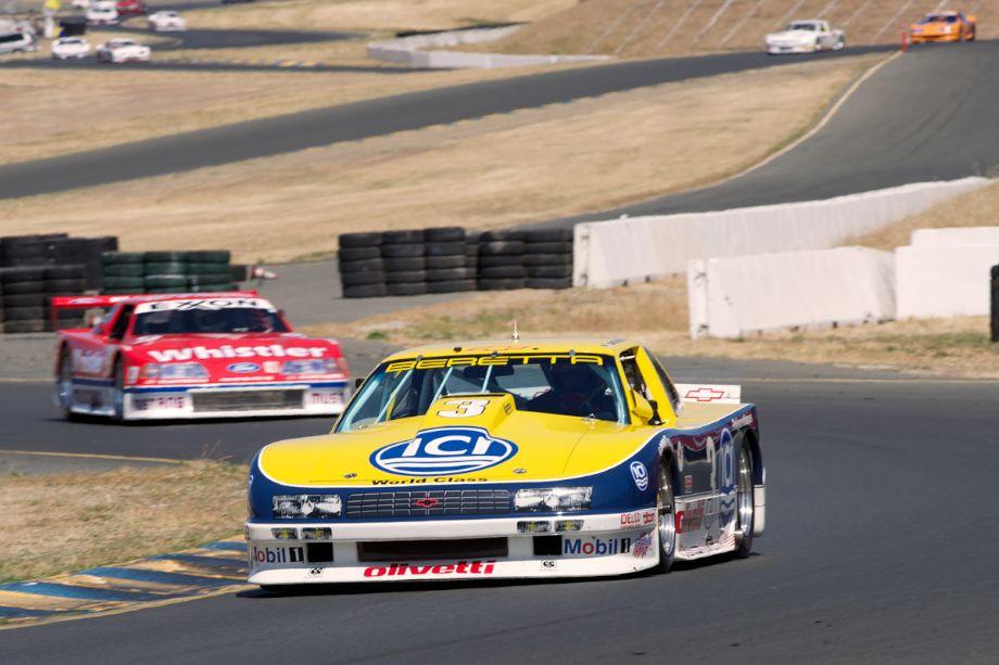 1990 Chevrolet Beretta driven by Peter Baljet in turn ten.
