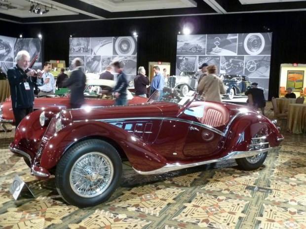 1939 Alfa Romeo 6C 2300B Corto Spider