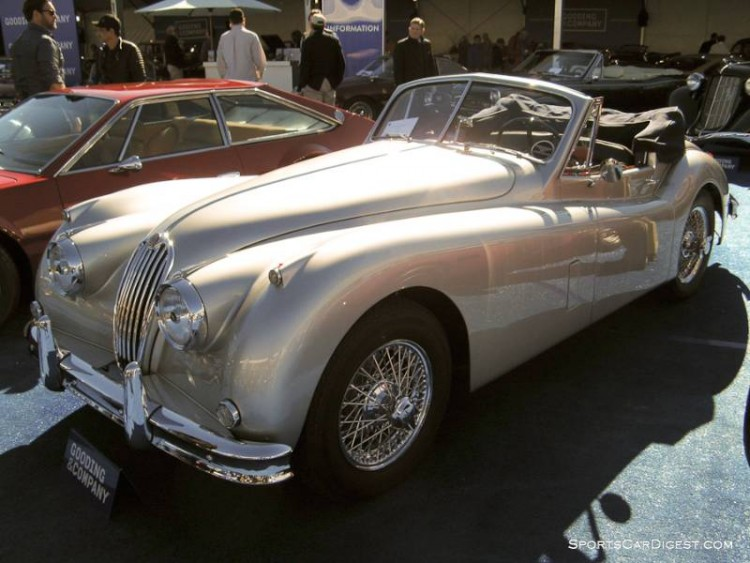 1956 Jaguar XK 140 MC Drophead Coupe