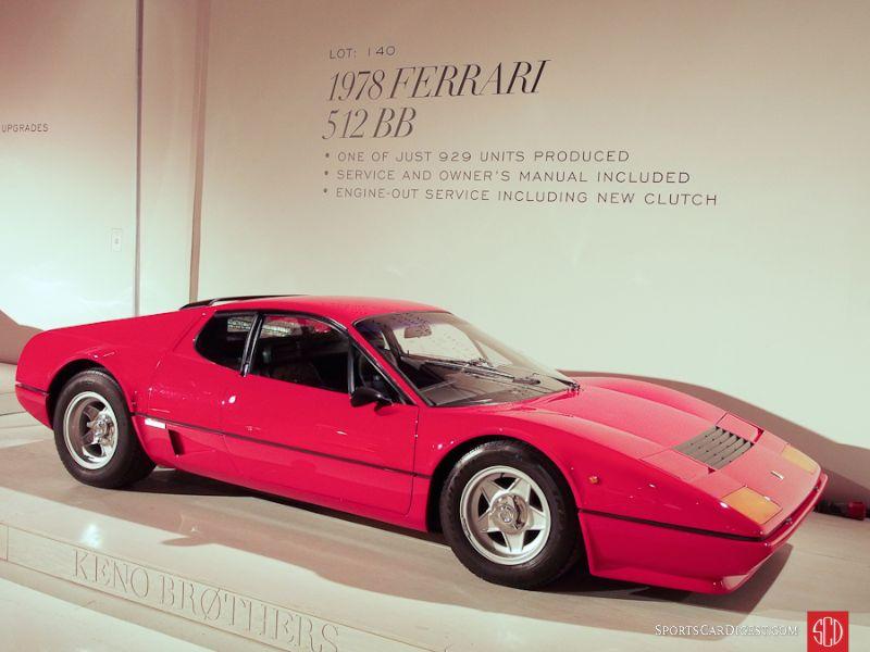 1978 Ferrari 512 BB Berlinetta