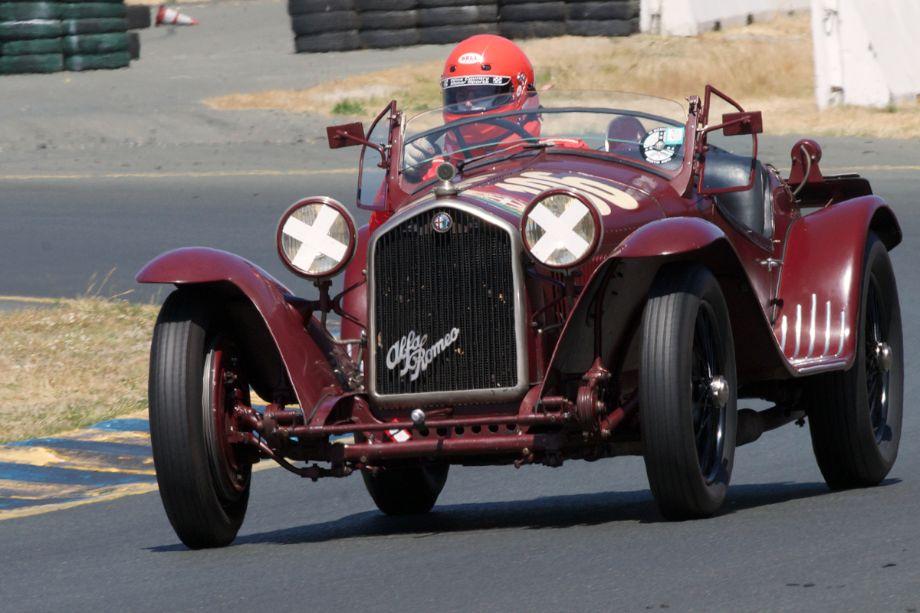 Tom Price's 1932 Alfa Romeo 8C 2300MM.