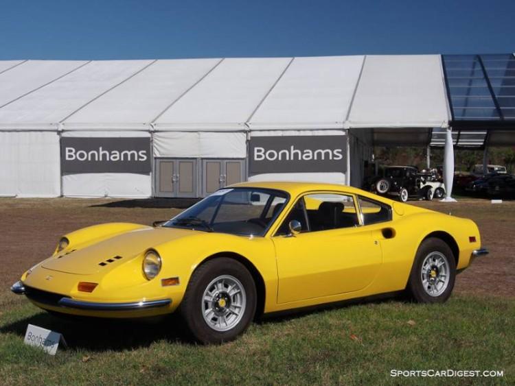 1971 Ferrari 246 GT Dino, Body by Scaglietti