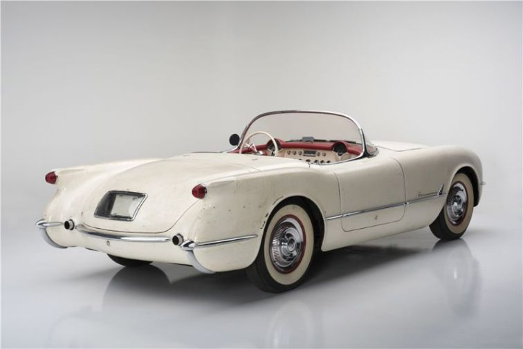 "1954 Chevrolet Corvette Convertible ""Entombed Corvette"""