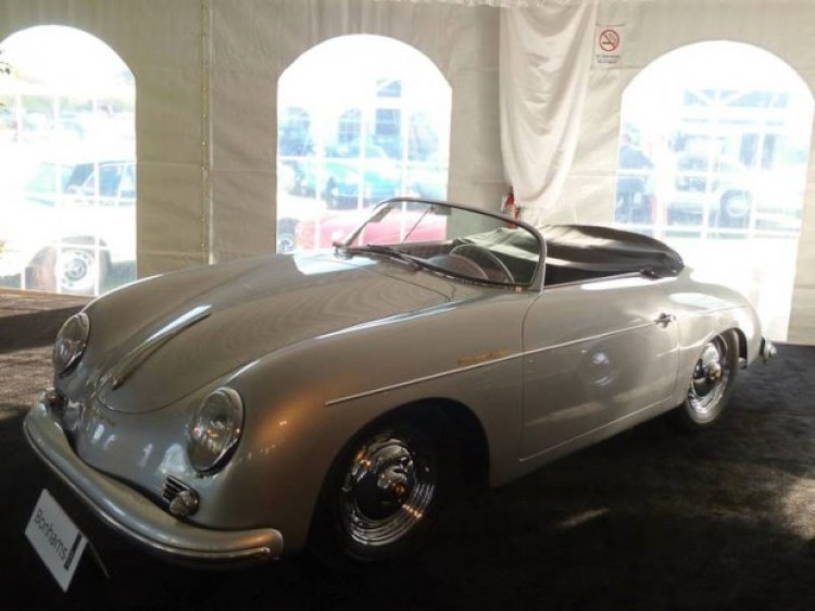 1957 Porsche 356A 1600 Super Speedster, Body by Reutter