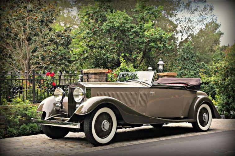 1934 Rolls Royce Phantom II Kellner Cabriolet