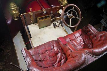 1905 FIAT 60HP Five-Passenger Interior