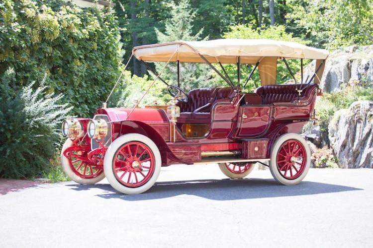 1907 Stearns 60hp Seven Passenger Touring