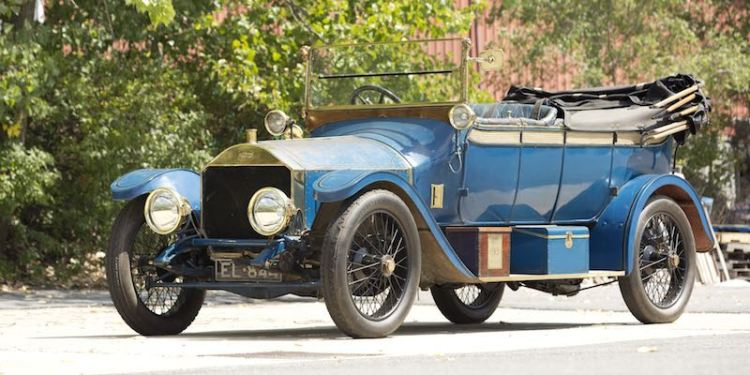 1913 Napier T44 30/35hp Touring Car with Coachwork by Cunard