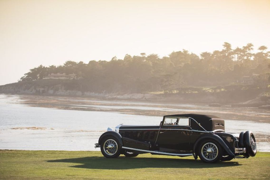 1924 Isotta Fraschini Tipo 8A F. Ramseier and Cie Worblaufern Cabriolet (photo: Darin Schnabel / RM Sotheby's]