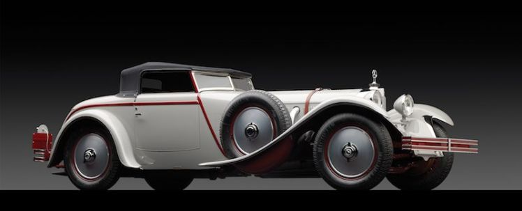 1928 Mercedes-Benz 680S Torpedo Roadster by Saoutchik