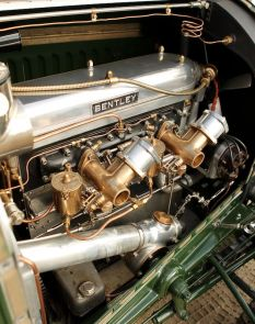 Engine, 1928 Bentley 4.5 Litre Semi-Le Mans Tourer