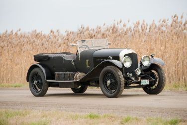 1929 Bentley 4.5-Litre Tourer by Vanden Plas