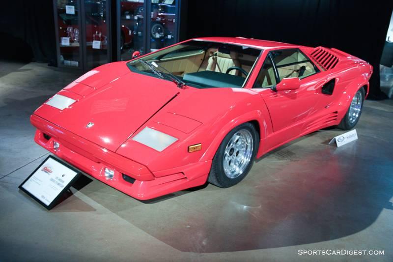 1990 Lamborghini Countach Silver Anniversary Coupe, Body by Bertone