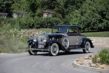 1930 Cadillac V-16 Two-Passenger Coupe by Fleetwood
