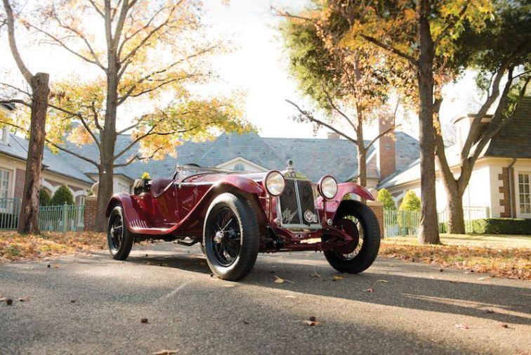 1931 Alfa Romeo 6C 1750 Gran Sport Spider (photo: Darin Schnabel)