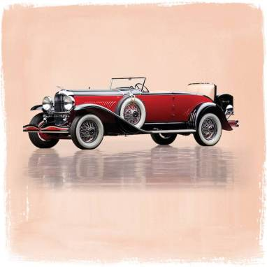 1931 Duesenberg Model J 'Disappearing Top' Convertible Coupe by Murphy