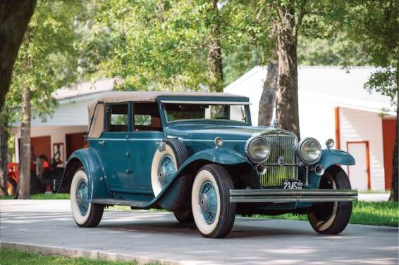 1931 Stutz DV-32 Convertible Sedan by LeBaron
