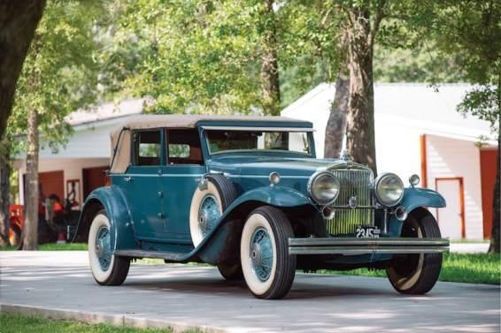 1931 Stutz DV-32 Convertible Sedan by LeBaron