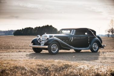 1932 Horch 670 Cabriolet by Glaser (photo: Darin Schnabel)