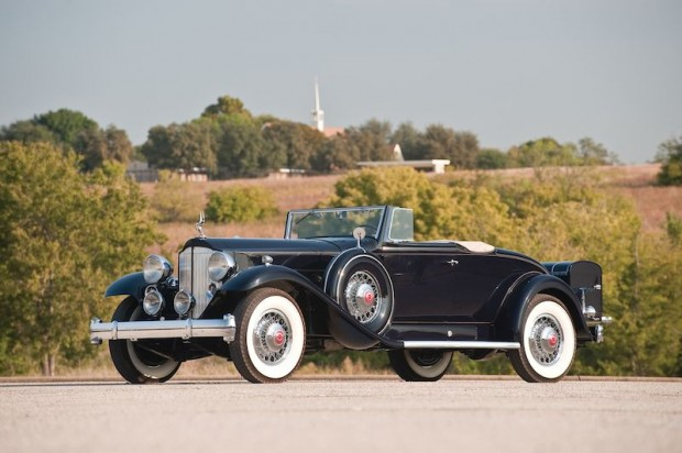 1932 Packard Twin Six 2-4P Coupe Roadster