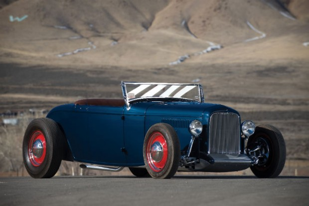 <strong>1932 Ford Khougaz Lakes Roadster - Estimate $250,000 - $350,000.</strong> Multiple award-winning Early Lakes Roadster by Jim Khougaz.