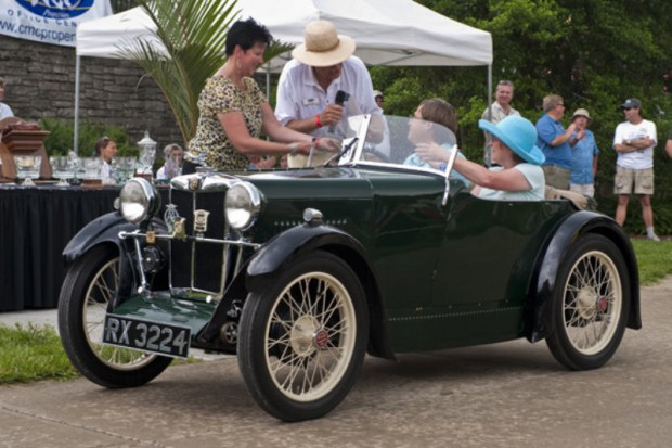 <strong>Best British Sports Car, Sponsored by Dayton Wheel Concepts </strong> 1932 MG M-Type Roadster, Ray and Carol McCrary, Nashville, TN