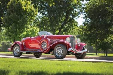 1934 Auburn Twelve Salon Speedster (photo: David McNeese)