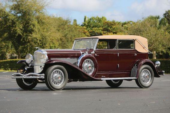 1934 Duesenberg Model SJ Convertible Sedan