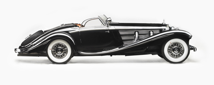 Mercedes Benz 540k At Gooding Pebble Beach Auction 2012