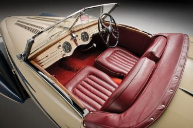 1937 Delahaye 135 Competition Court Roadster Interior