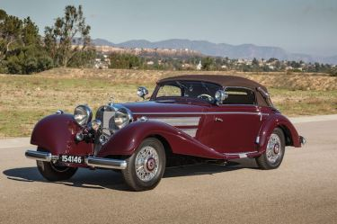 1937 Mercedes-Benz 540 K Sport Cabriolet A (photo: Evan Klein)