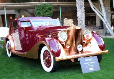1937 Rolls-Royce Phantom III (photo: Bob Golfen)