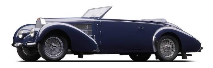 1938 Bugatti Type 57C Gangloff Cabriolet