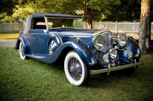 <strong>1938 Bentley 4 ¼ Liter Derby Coachwork by Vanden Plas</strong>