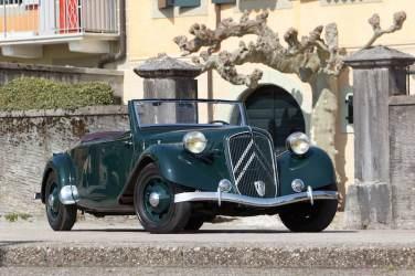 1939 Citroen 15 CV Roadster (photo: Bernard Canonne)