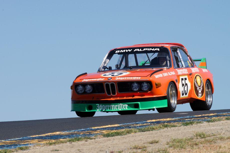 Steve Walker's 1973 BMW 3.5 CSL in three.
