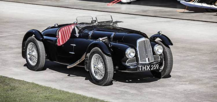 1948 Aston Martin 2-Liter Works Team Car (photo: Boris Adolf)