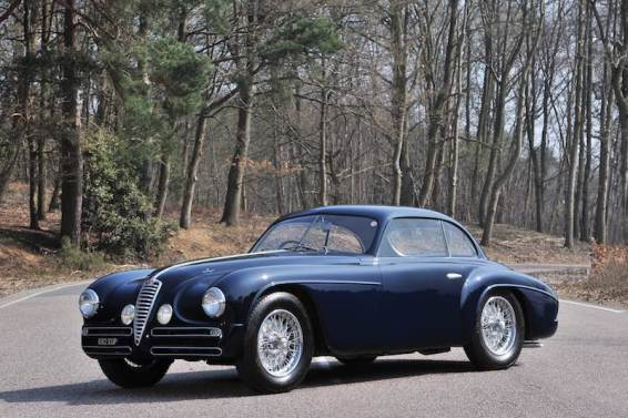 1949 Alfa Romeo 6C 2500 SS Villa d'Este Coupe (photo: Tim Scott)