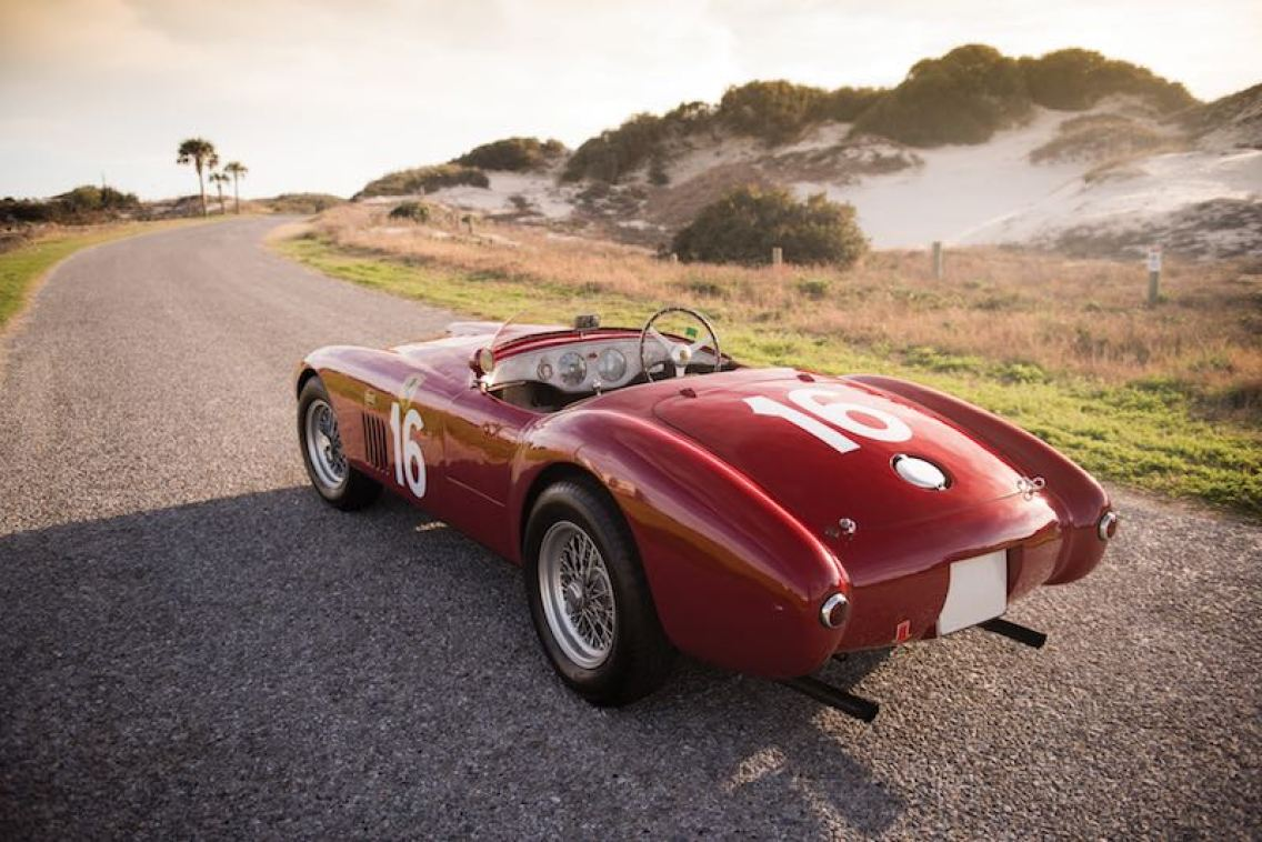 1950 Ferrari 275S-340 America Barchetta (photo: Darin Schnabel)