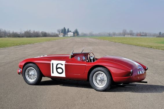 1951 Ferrari 340 America Barchetta by Touring (photo: Tim Scott)