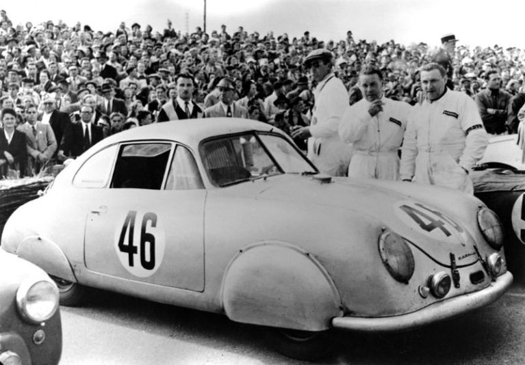 1951 Le Mans, 46: Porsche Typ 356 SL
