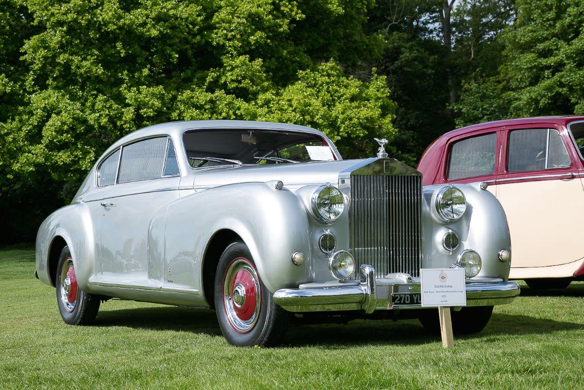 1951 rolls royce silver dawn pinin farina coupe