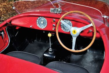 1952 Ferrari 212 Export Barchetta Interior