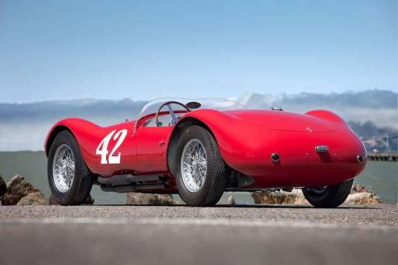 1953 Maserati A6GCS-53 Spider Rear