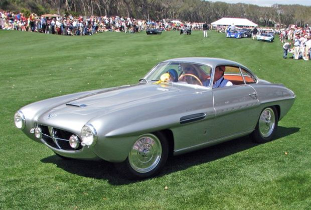 1953 Fiat 8V Supersonic, David and Ginny Sydorick, Beverly Hills, CA
